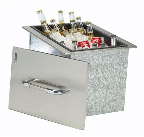 Stainless Steel Patio Cooler by View Larger