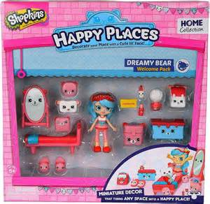 shopkins happy places series 1 dreamy bear welcome pack jessicake moose toys toywiz