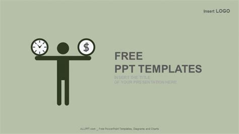 Money Powerpoint Templates Free Time And Money Burden Business Powerpoint Templates