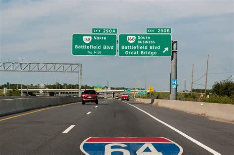 interstate  west hampton roads suffolk  norfolk aaroads virginia