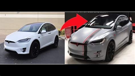 tesla jake paul jake pauls tesla wrapped behind the scenes youtube