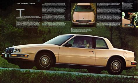 all car manuals free 1986 buick riviera security system 1986 buick riviera prestige brochure
