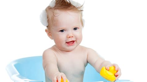 Bathtub For Infant How To Wash A Baby S Hair Infant Care Youtube