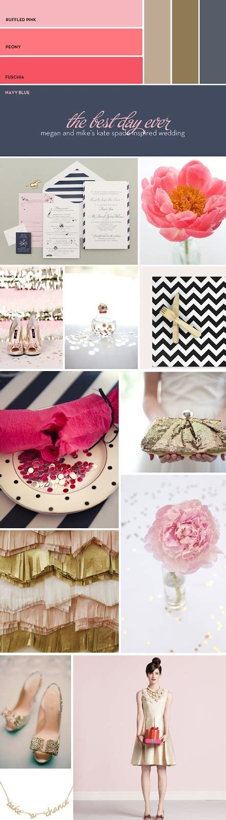 kate color schemes kate spade party color scheme kate spate birthday party