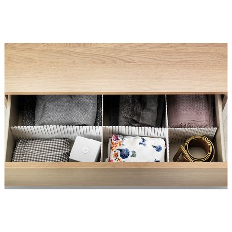 Divider Drawer by H 214 Fta Divider For Drawer White 74x14 Cm