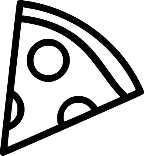 pizza clipart black and white turkey slice black white svg free