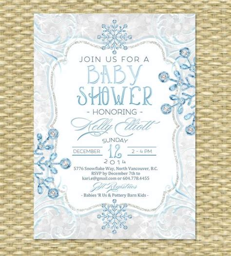 baby its cold outside winter wonderland baby shower invitation