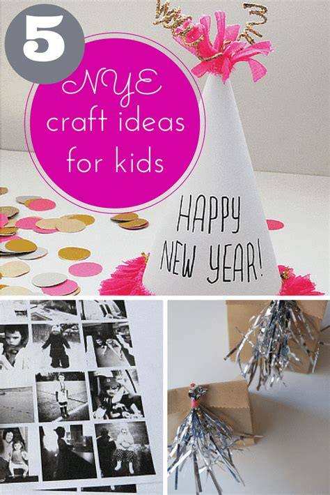 new years craft projects 5 fantastic new years craft ideas for