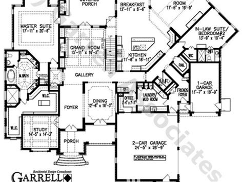 Large 1 Story House Plans by Large Single Floor House Plans Single Story House Floor