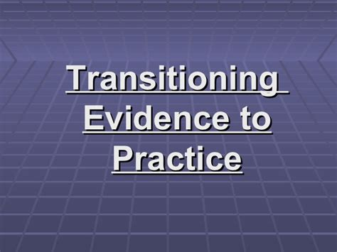 evidence of practice playbook for powered professional learning books chapter15 power point july132012