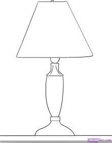 Side Table Lamp How To Draw A Lamp Step By Step Stuff Pop Culture Free