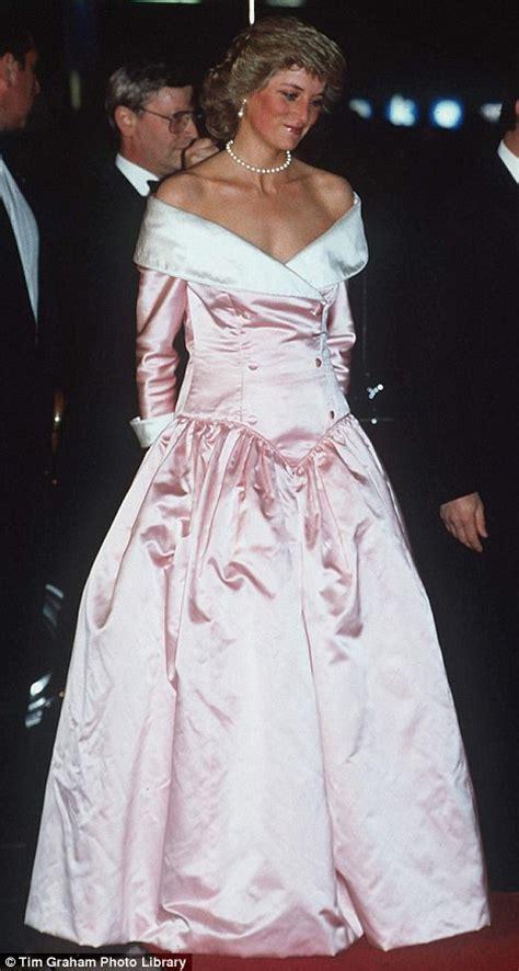 Diana Princess Dress princess diana s iconic dresses go up in kensington palace