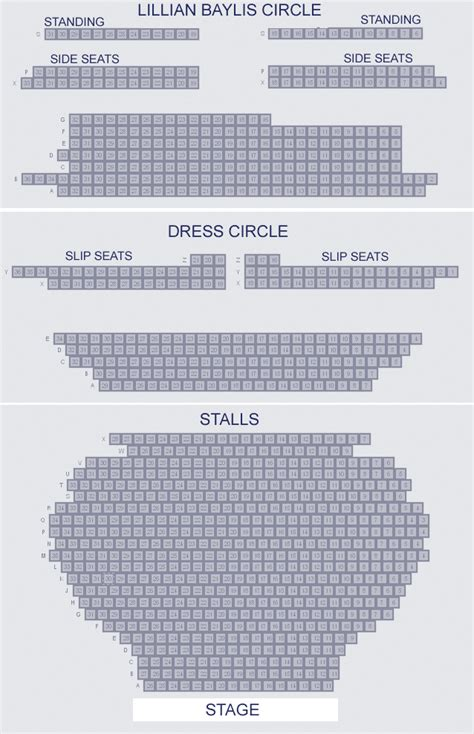 vic house seating plan vic theatre venue information theatre