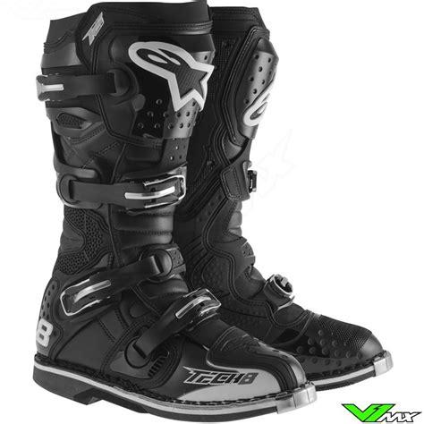 alpinestars tech 8 boots alpinestars tech 8 rs 2015 mx boots black v1mx