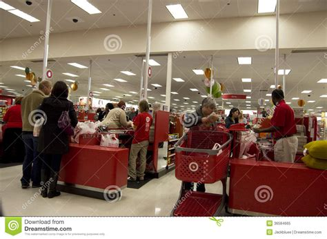 christmas store usa target store cashier customer shopping editorial image image 36584665