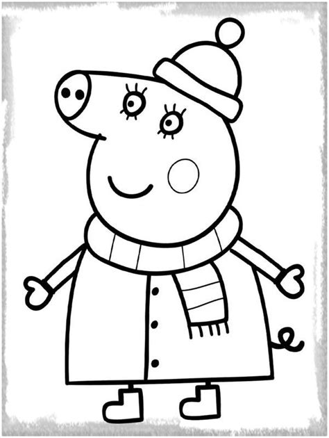 peppa pig para colorear 39 best peppa coloring pages images on pinterest pigs