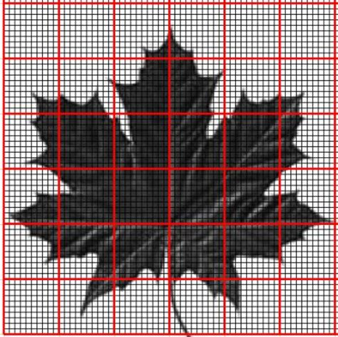 knitting pattern grid maker 17 best images about maple leaf chart on pinterest