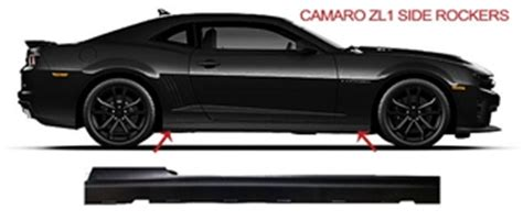 zl1 side rockers from gm for 2010 2015 camaro (all models