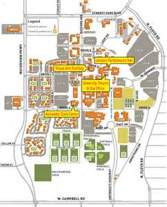 Ut Dallas Campus Map by Maps And Directions Events Of Arts And