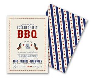 bbq invitations patriotic vintage july 4th memorial day