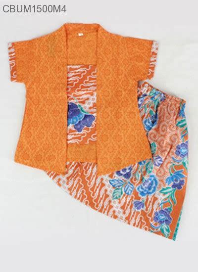 Kebaya Anak Setelan Anak Baju Muslim Anak setelan kebaya anak pendek motif parang bunga kebaya