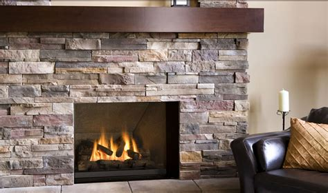 With Fireplace by Wrap Around Gray Iron Fireplace Framebox Mixed With