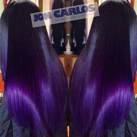 weave hairstyles with purple tips black weave with purple tips pinterest the world s