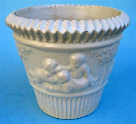 Roseville Planter by Roseville Donatello White Planter Trial Glaze For