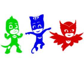 pj masks stickers etsy