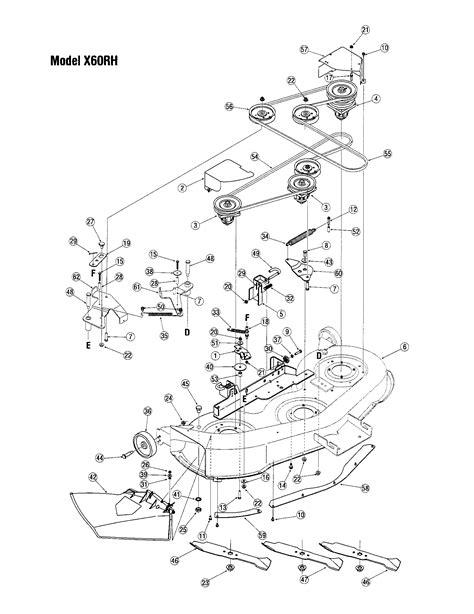 toro mower parts diagram deck model x60rh diagram parts list for model lx460 toro