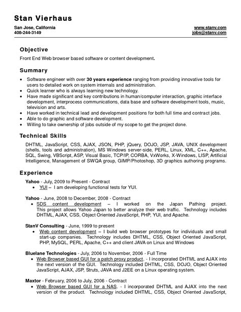 Professional Resume Template Word by Professional Resume Template Word Free Resume