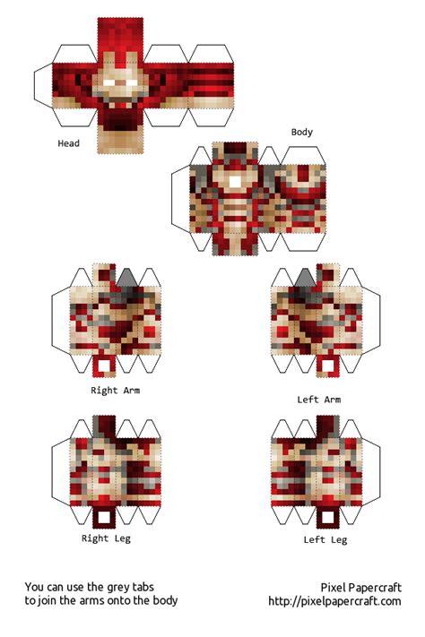 Iron Papercraft - papercraft iron mk 42 armour
