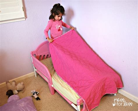 making the bed practicing independence skills get ready for k through play mess for less