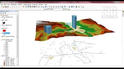 arcgis arcscene tutorial tutorial arcgis cap 13 09 arcscene extrusi 243 n pol 237 gonos