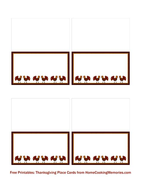 place cards template thanksgiving 7 best images of printable thanksgiving place card