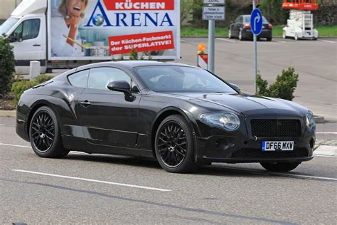 Bentley Continental Gt Spyshots Less Camo