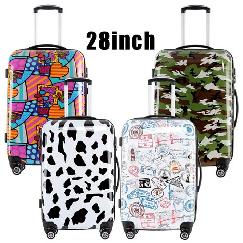 colorful luggage 2016 fochier luggage colorful 28 inches