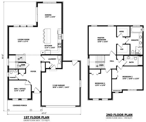 Home Floor Plans Canada house plans canada stock custom