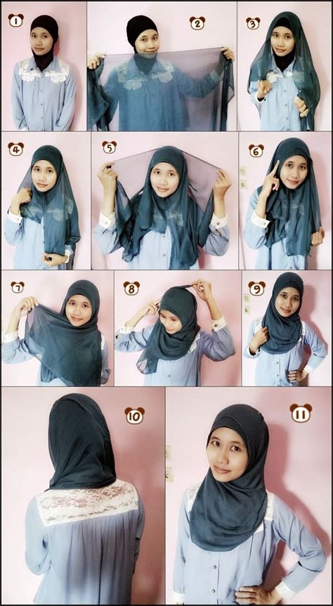 tutorial jilbab monochrome read more