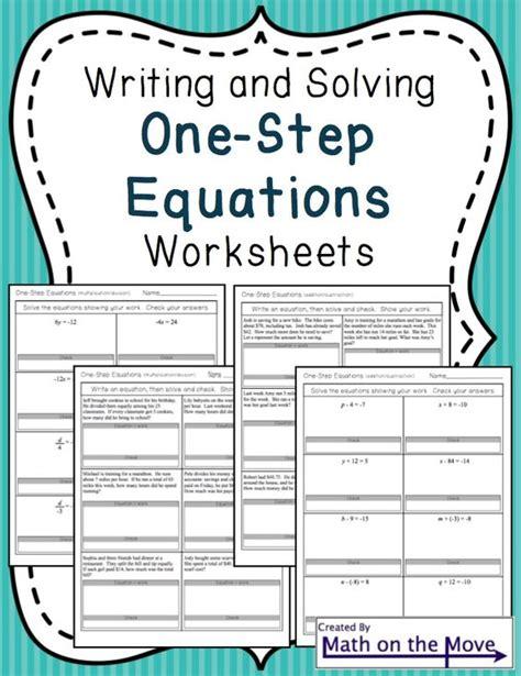 Step One Worksheet