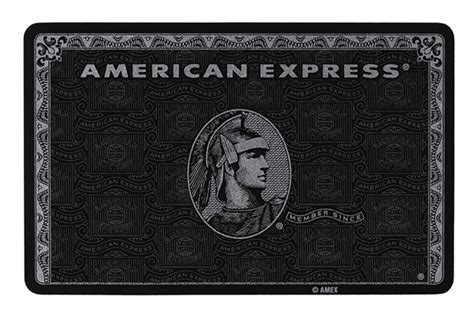 Credit Card Template Black American Express Black Card Amex Centurion Card On Behance