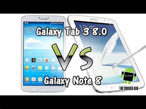 Samsung Tab 3 Vs Note 8 galaxy tab 3 8 0 vs galaxy note 8 comparison
