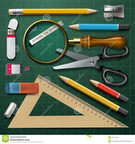colorful office school supplies royalty free stock image colorful school supplies royalty free stock photo image