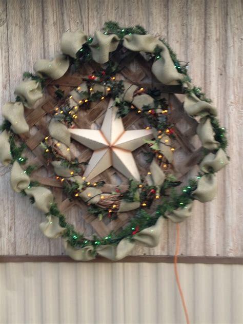 christmas decoration     tobacco basket christmas decoration pinterest