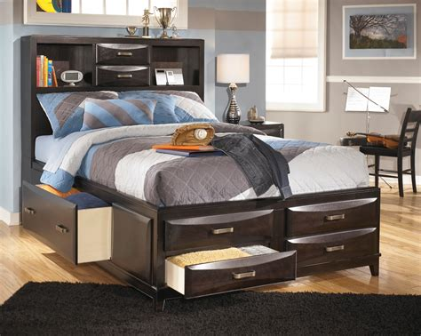 youth bedroom furniture with storage kira youth storage bed b473 ashley furniture