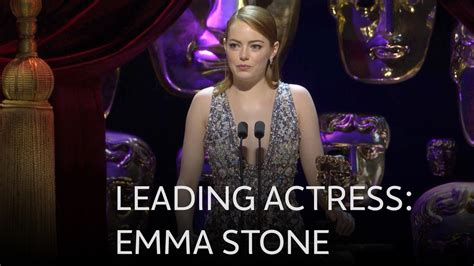 what film has emma stone been in emma stone wins best leading actress bafta for la la land