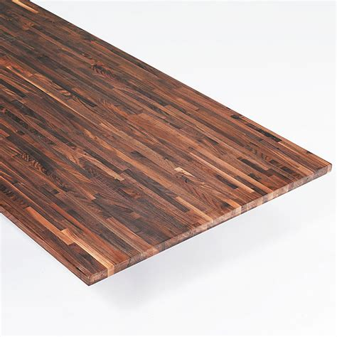 Exclusivholz Massivholzplatte (Walnuss, 260 cm x 80 cm x 2