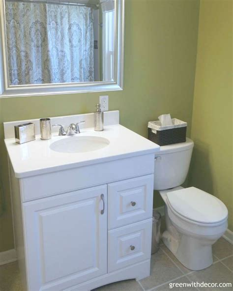 bathroom vanity height tips green with decor design tips for a bathroom renovation 1