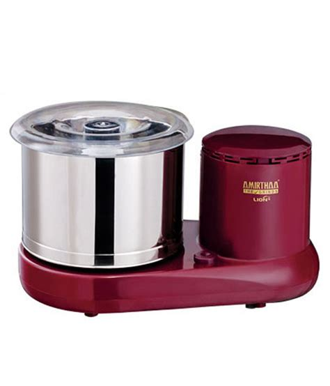 Amirthaa Lion Table Top Wet Grinder Price In India Buy Table Top Grinder