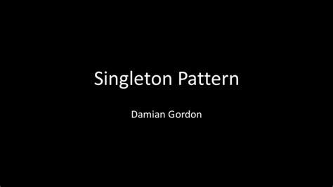 net singleton pattern python singleton pattern